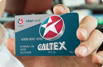 Caltex StarCard visual